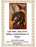 Joan of Arc: Military Leader/ Heroine of France