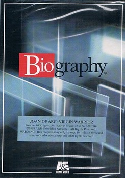 Joan of Arc:  Virgin Warrior DVD