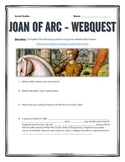 Joan of Arc - Webquest with Key