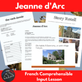 Joan of Arc - comprehensible input lesson for French beginners