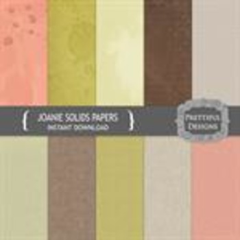 Joanie Solids Paper Pack