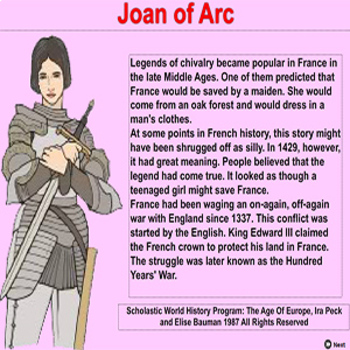 JoanofArc - Air File & Android Phone or Tablet - Bill Burton