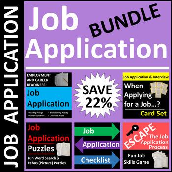 Job Application BUNDLE