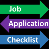 Job Application Checklist - Free