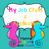 Job Application and Job Chart (Ocean Theme) (SEL)