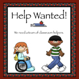 Job Application for Classroom Helper Positions