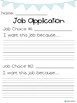 Job Application for Primary