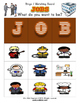 Job Bingo Matching Activity with flashcards