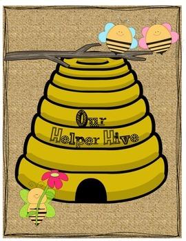 Job Cards: Bee Theme