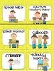 Job Cards: School Kids Theme