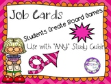 "Job Cards: Students Create Their Own Games {Use with ""ANY"""