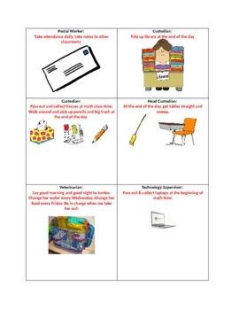 Job Cards and Descriptions