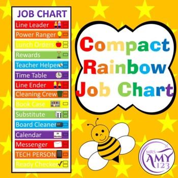 Compact Job Chart - Save Space!