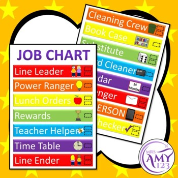 Compact Job Chart - Save Space!