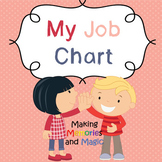 Job Chart (Blue and Pink Theme) (SEL)