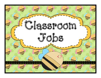 Job Chart Bee Theme