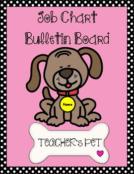 Job Chart Bulletin Board - Teacher's Pet