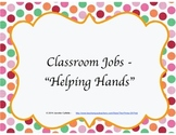 Job Chart - Helping Hands