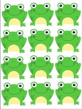 """Job Chart """"Hoppy Helpers"""" (Frogs)"""