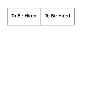 Job Chart Labels