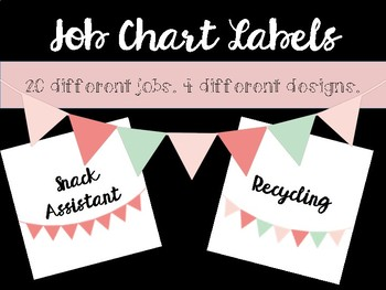Job Chart Labels