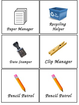 Job Chart Labels/Jobs