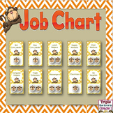Job Chart - Monkey Theme