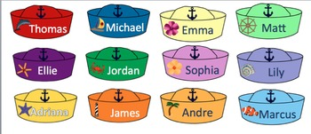 Job Chart:  Nautical Theme