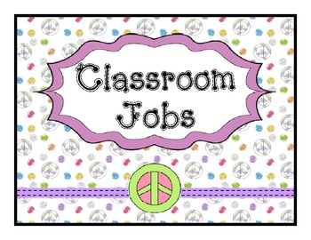 Job Chart Peace Theme