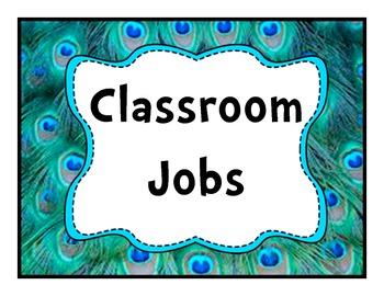 Job Chart Peacock
