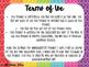 Job Chart Pennants Rainbow Doodles