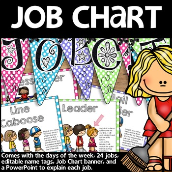 Job Chart Polka Dot Print