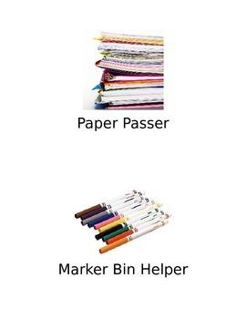Job Chart Printables