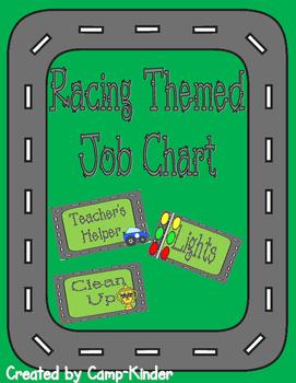 Job Chart- Racing Theme