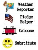 Job Chart Signs