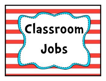 Job Chart Soos Red Teal Theme