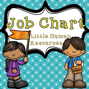 Job Chart Teal