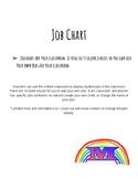 Job Chart for Classroom