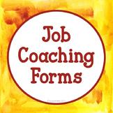 Job Coaching Forms