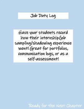 Job Duty Log