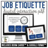 Job Etiquette Digital Interactive Activity