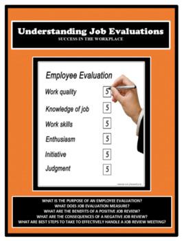 Career Readiness, JOB EVALUATION LESSON, Vocational, Job Skills, Employment