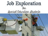 Job Exploration Packet for Special Education Students (rea