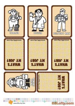 Job Game Cards
