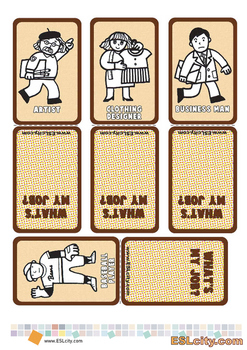 Job Game Cards