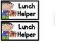 Job Helper Chart for the Classroom