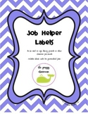 Job Helper Labels