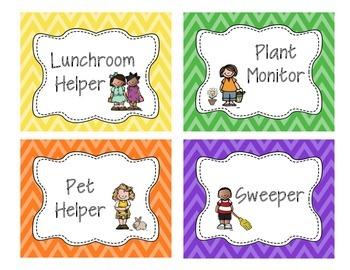 Job Helper Labels