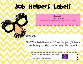 Job Helper Labels- Disguises
