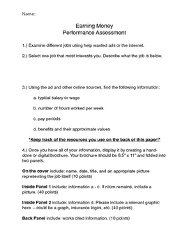 Job Hunt Performance Assessment